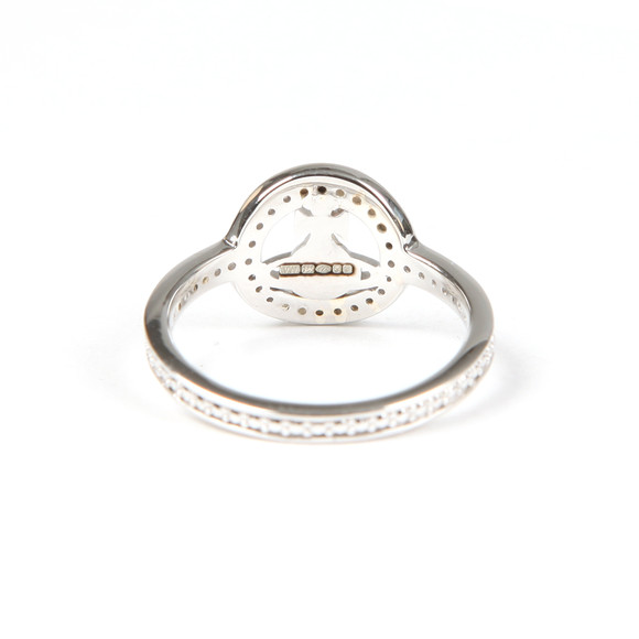 Vivienne Westwood Womens Silver Phillis Ring main image