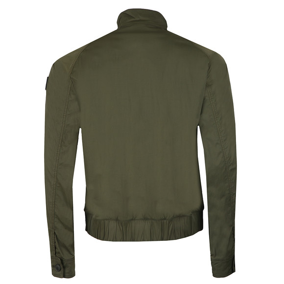 BOSS Mens Green Casual Osames Bomber Jacket main image