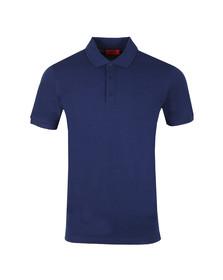 HUGO Mens Blue Donos Polo Shirt