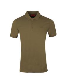 HUGO Mens Green Donos Polo Shirt