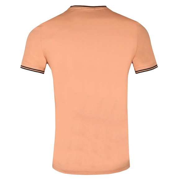 Fred Perry Mens Orange Twin Tipped T-shirt main image