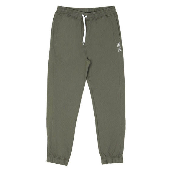BOSS Mens Green Casual Supersonic Sweatpant main image