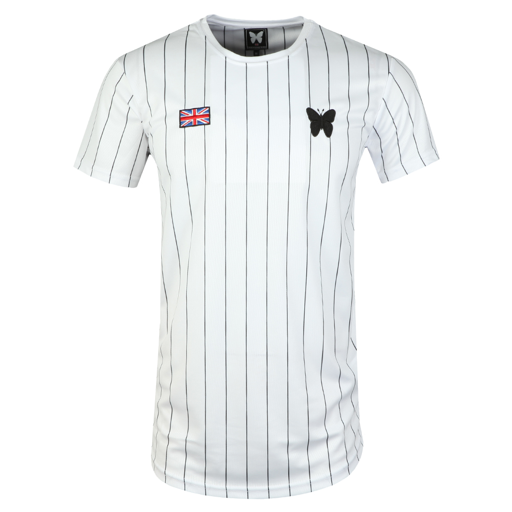 Pin Stripe Baseball T Shirt main image