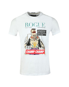 Weekend Offender Mens White Rogue Mcgregor T Shirt