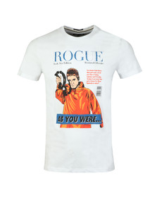 Weekend Offender Mens White Rogue Gallagher T Shirt