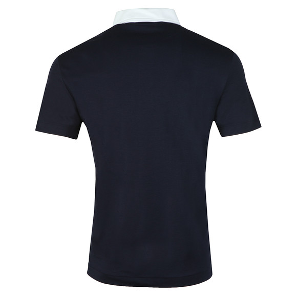 Lacoste Mens Blue S/S 85TH Anniversary polo main image