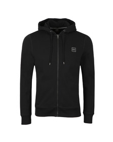 BOSS Orange Mens Black Znacks Full Zip Hoody