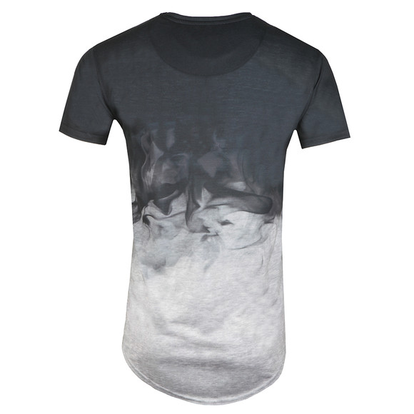 Sik Silk Mens Black S/S Smoke Marl Tee main image
