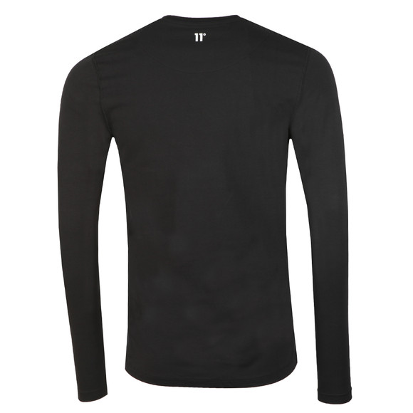 Eleven Degrees Mens Black L/S Muscle Fit Tee main image