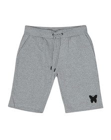 Good For Nothing Mens Grey Essential Jog Shorts