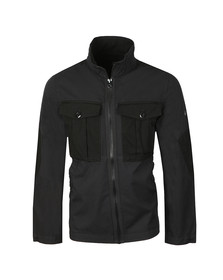 G-Star Mens Black Type C Utility Overshirt