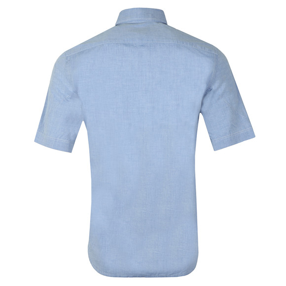 G-Star Mens Blue Bristum Utility SS Shirt main image