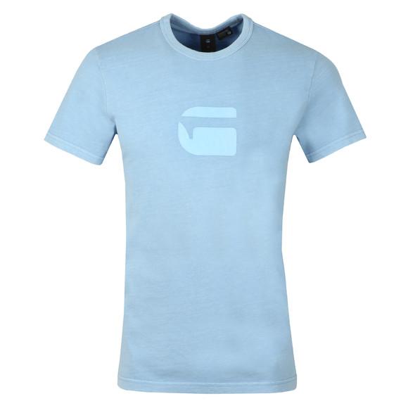 G-Star Mens Blue Dedda SS Tee main image