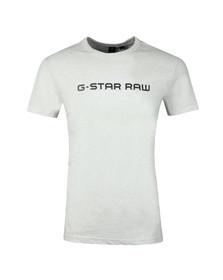 G-Star Mens White Loaq SS Tee