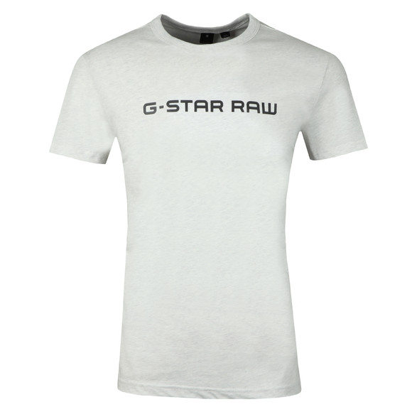 G-Star Mens White Loaq SS Tee main image