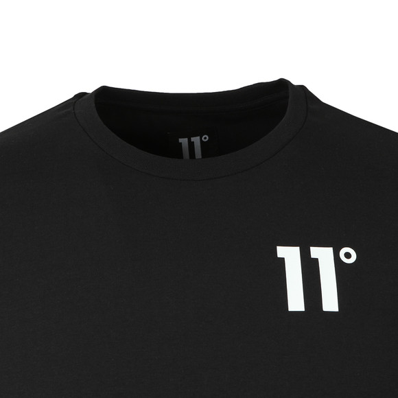 Eleven Degrees Mens Black S/S Muscle Fit Tee main image
