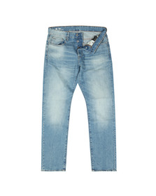 G-Star Mens Blue 3301 Straight Tapered Jean