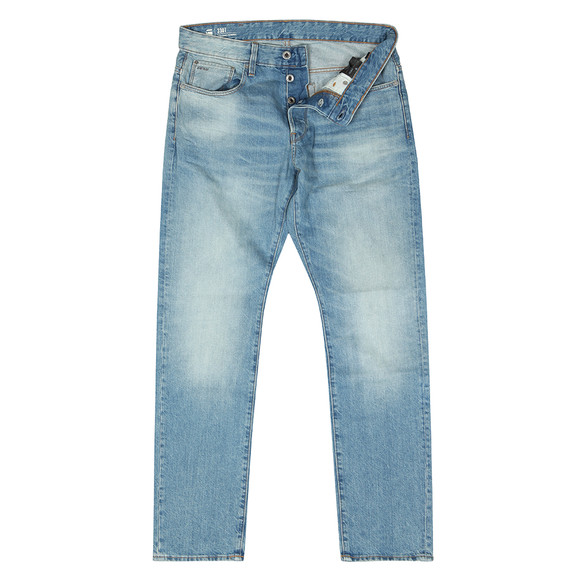 G-Star Mens Blue 3301 Straight Tapered Jean main image