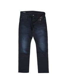 G-Star Mens Blue Slander Straight Tapered Jean