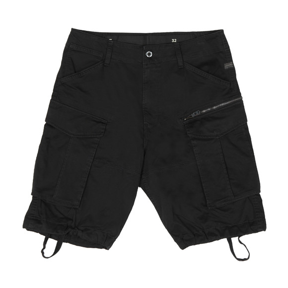 G-Star Mens Black Rovic Zip Relaxed Short main image