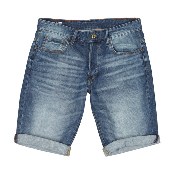 G-Star Mens Blue Denim Sato Short main image