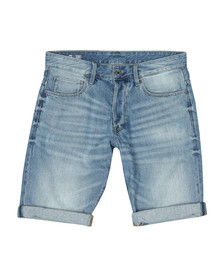 G-Star Mens Blue Denim Sato Short