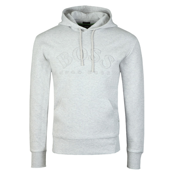 BOSS Mens Grey Athleisure Sly Overhead Hoody main image
