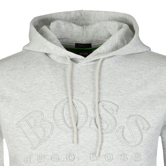 BOSS Athleisure Mens Grey Sly Overhead Hoody main image