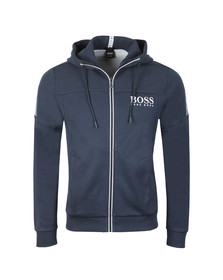 BOSS Green Mens Blue Saggy Hoody