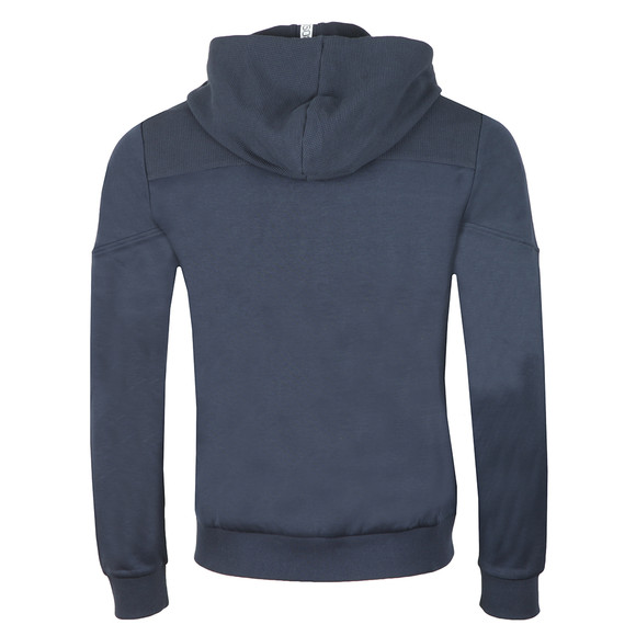 BOSS Athleisure Mens Blue Saggy Hoody main image