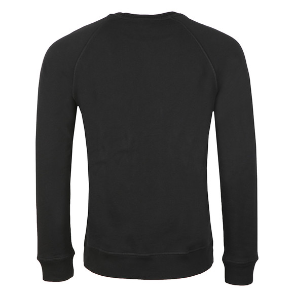 BOSS Mens Black Casual Wyan Sweatshirt main image
