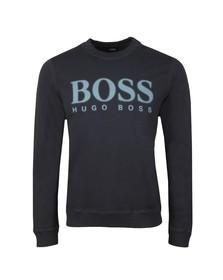 Boss Orange Mens Blue Wallker Sweatshirt