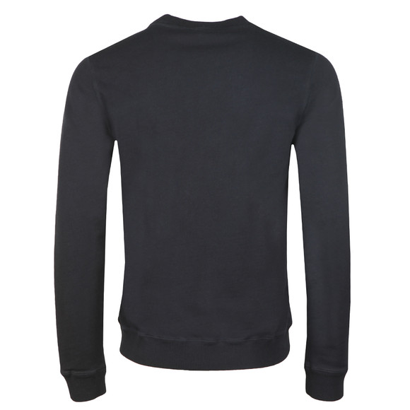 BOSS Casualwear Mens Blue Wallker Sweatshirt main image