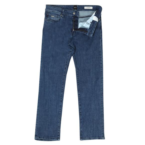 BOSS Mens Blue Casual Maine Regular Jean main image