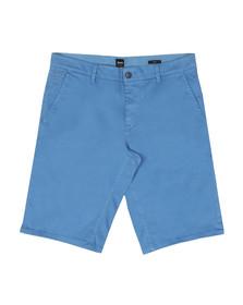 Boss Orange Mens Blue Schino Slim Chino Shorts