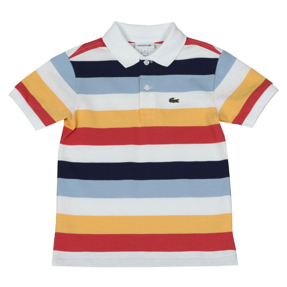 Boys PJ3583 Stripe Polo Shirt main image