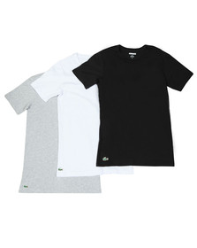 Lacoste Mens Multicoloured 3 Pack T-shirts