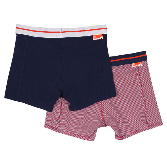 Superdry Mens Multicoloured Sport Boxer Double Pack main image