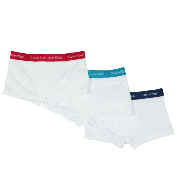 Calvin Klein Mens Blue 3 Pack Low Rise Trunk main image