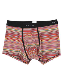 Paul Smith Mens Multicoloured Multi Stripe Trunk