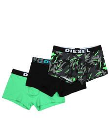 Diesel Mens Black UMBX Shawn 3 Pack Boxer