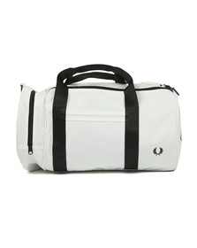 Fred Perry Sportswear Mens White Classic Barrel Bag