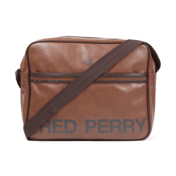 Fred Perry Mens Brown Classic Logo Shoulder Bag main image