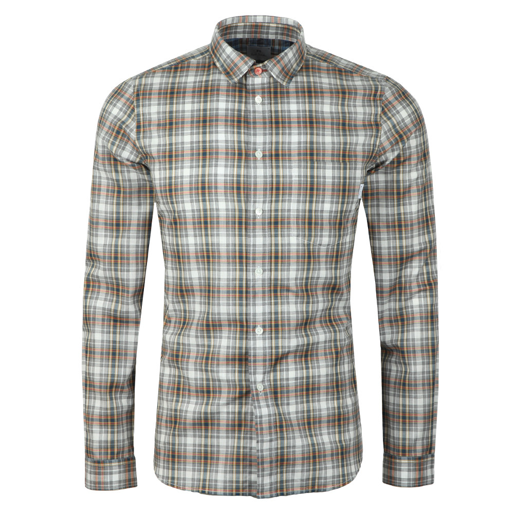 5939397594f96e PS Paul Smith L/S Check Shirt | Oxygen Clothing
