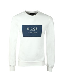 Nicce Mens Off-white MMXIII Sweat
