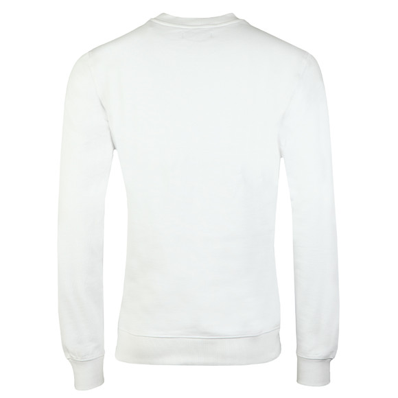 Calvin Klein Jeans Mens White Hayo 1 Sweatshirt main image