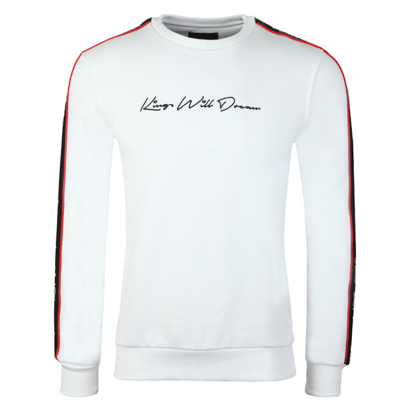Kings Will Dream Mens White Roxberry Crew Sweat main image