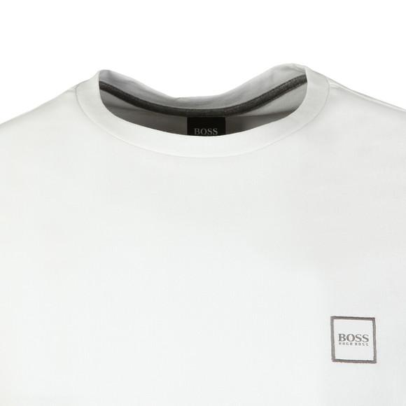 BOSS Mens White Casual Tales T Shirt