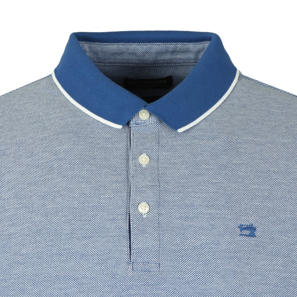 Polo In Two Tone Pique main image