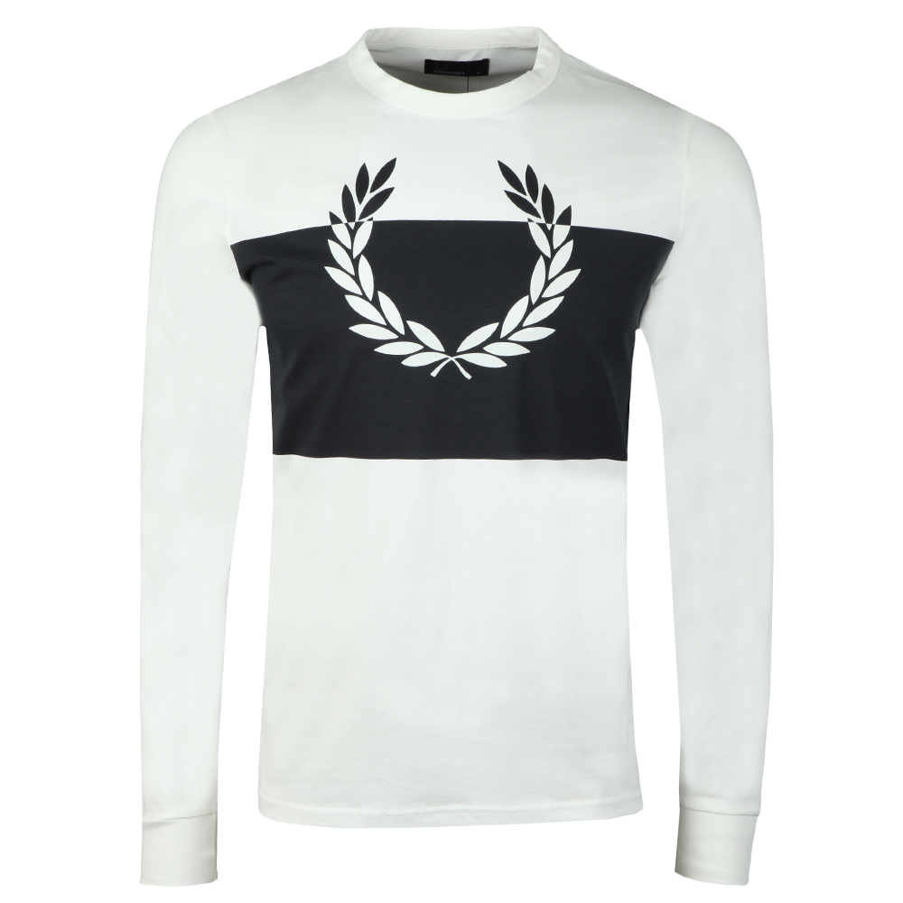 Blocked Laurel Wreath LS T-Shirt main image